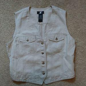🌷2/$12 RF linen vest